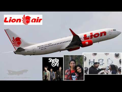 Sheila On 7 - On The Phone (Illustration: Lion Air Boeing 737 - 800)