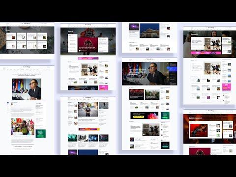 Introducing Newsberg: Best Joomla Template For News, Magazine & Sports Sites
