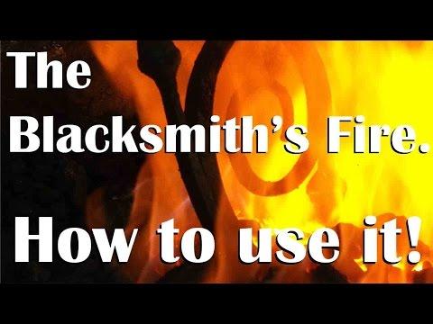 Blacksmithing Basics For Beginners: The Fire.