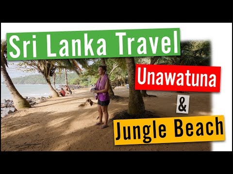 Sri Lanka Travel Vlog #5: Unawatuna and Jungle Beach