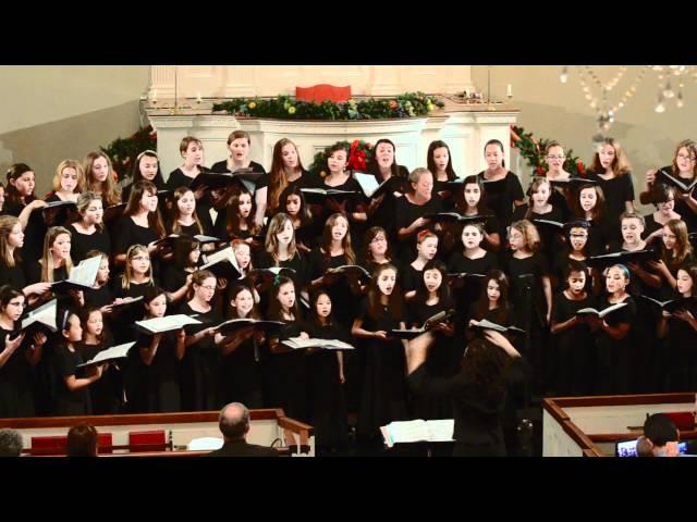 2011-12-16 The Elm City Girls Choir - Come Colours Rise
