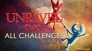 Unravel Two All Challenges  - [1080pHD 60fps] NO COMMENTARY