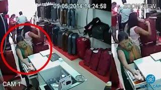 Bắt được kẻ trộm cắp tiền nhờ lắp đặt camera chống trộm trong cửa hàng