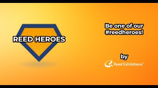 Be one of our #reedheroes! | Reed Exhibitions Austria