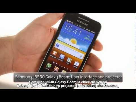 Samsung Galaxy Beam (I8530) hands-on