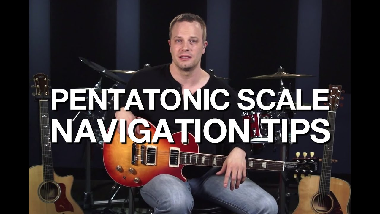 Pentatonic Scale Navigation Tips Lead Guitar Lesson Youtube