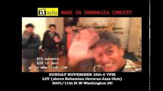 MADE IN INDONESIA CONCERT presents simakDIALOG concert in Washington DC
