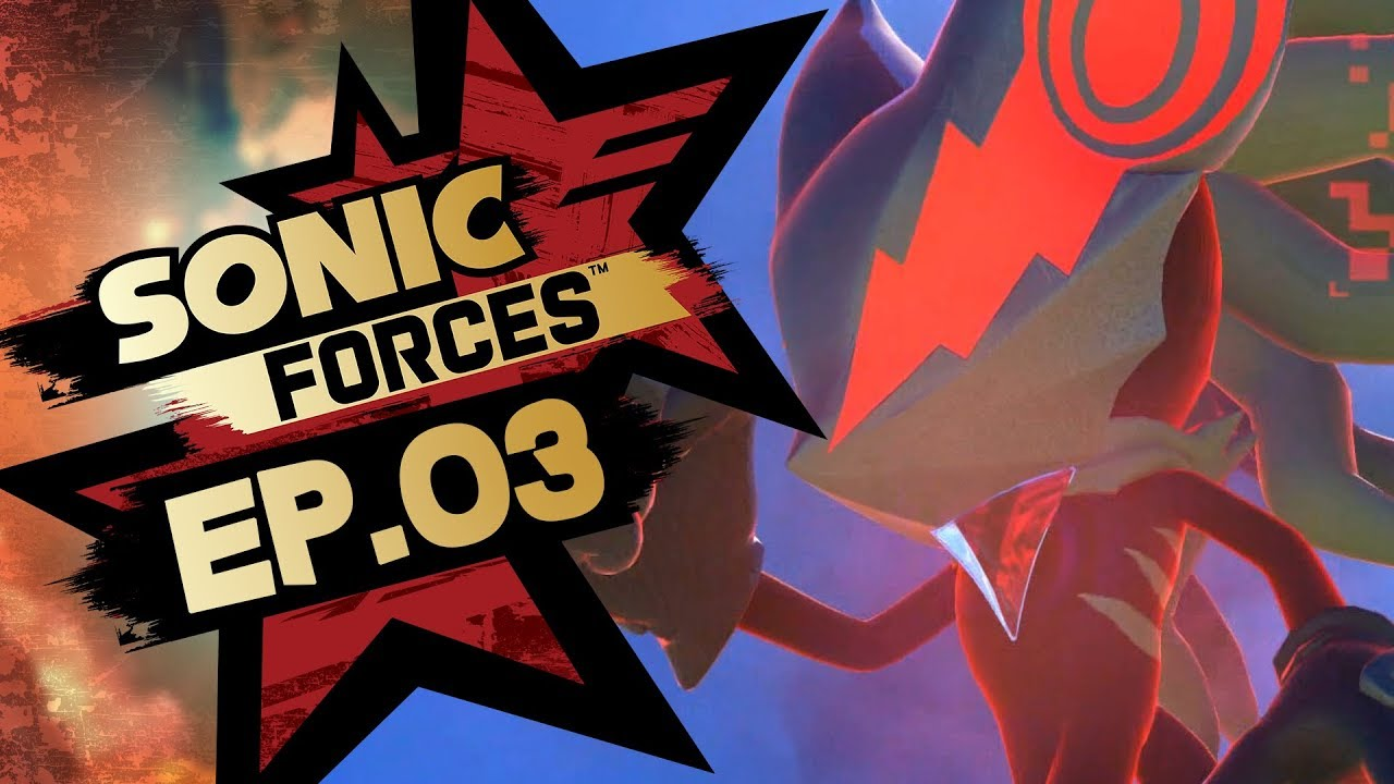 Sonic Forces PS4 Pro 4K Gameplay Walkthrough Playthrough Let's Play (Full Game) - Part 3 Hard Mode