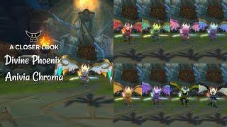 Divine Phoenix Anivia Chromas