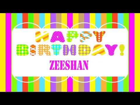 Zeeshan   Wishes & Mensajes - Happy Birthday
