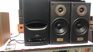 sUB IN ONKYO E77,bass 18cm.MADE IN JAPAN bncng sut 40w, 0931.008.099(zalo)