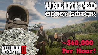 RDR2 BEST UNLIMITED MONEY GLITCH THAT STILL WORKS | $1000 EACH MIN RED DEAD REDEMPTION 2 (STORYMODE)