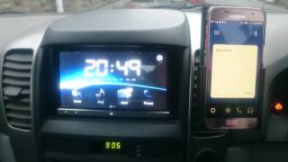 Android Auto on Appradio 2