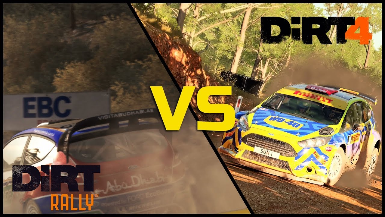dirt rally vs dirt 4 part 02 youtube. Black Bedroom Furniture Sets. Home Design Ideas