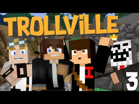KIDNAPPING ISH'S VILLAGERS | TrollVille Modded Survival [Ep.3]
