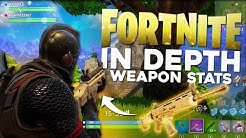 Fortnite In Depth: Weapon Stats & Tier List (Fortnite Battle Royale Gameplay)