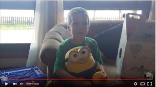 Six Year Old's Trip To Build A Bear Workshop Bob The Minion!