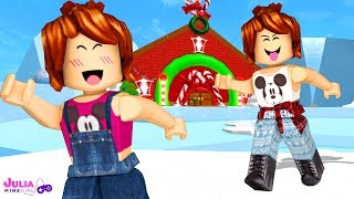 Roblox - CASA DO PAPAI NOEL (Escape The Santa Obby)