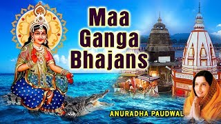 Maa Ganga Bhajans I ANURADHA PAUDWAL I Full Audio Songs Juke Box