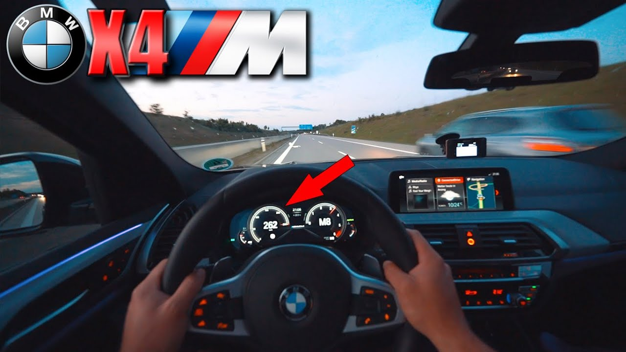 BMW X4 M40d | Pushing on German Autobahn✔