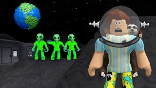 I Went To BLOXBURG SPACE.. Aliens Had EVIL Secrets! (Roblox)