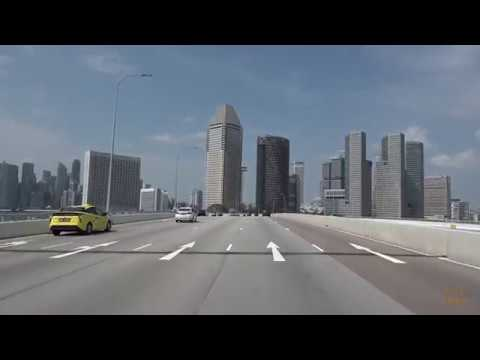 Driving in Singapore 4k