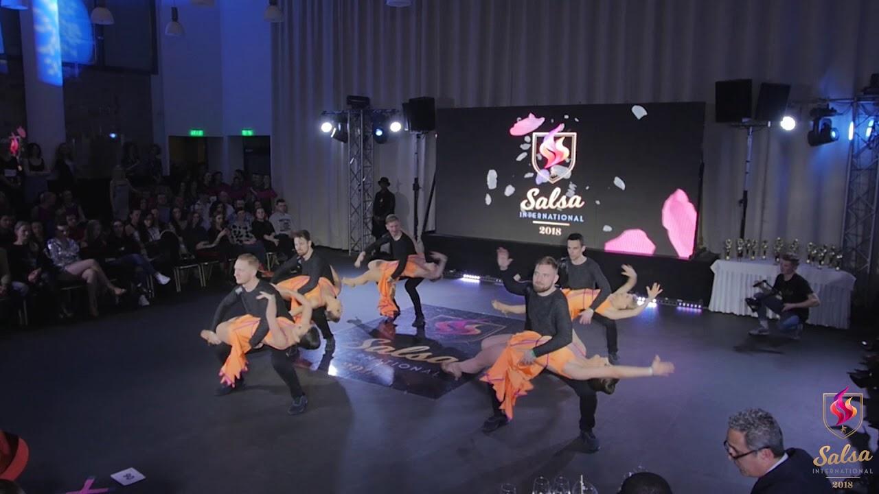 Tumbao   TUMBAO   Latino Show Big Teams   Salsa International 2018
