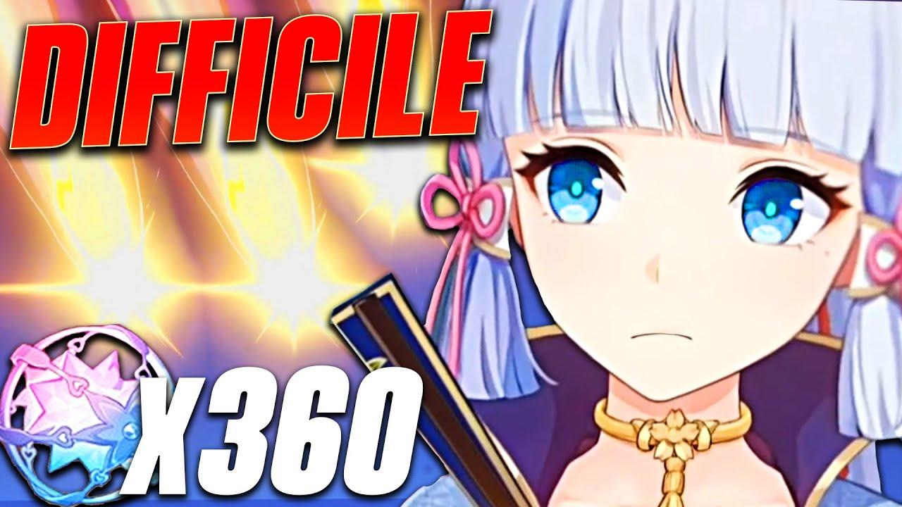 IL ÉCONOMISE 8 MOIS POUR AYAKA ! 360+ Invocations (Son compte a enfin des 5★) - Genshin Impact