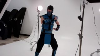 Scorpion & Sub-Zero Cosplay Photo Shoot