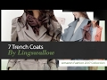 7 Trench Coats By Lingswallow Amazon Fashion 2017 Collection