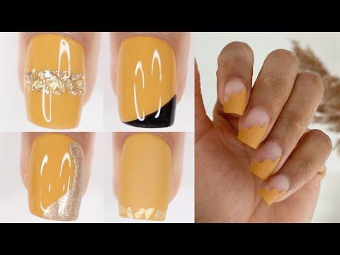 FALL NAIL DESIGNS 2021   fall nail polish colors 2021 nail art compilation