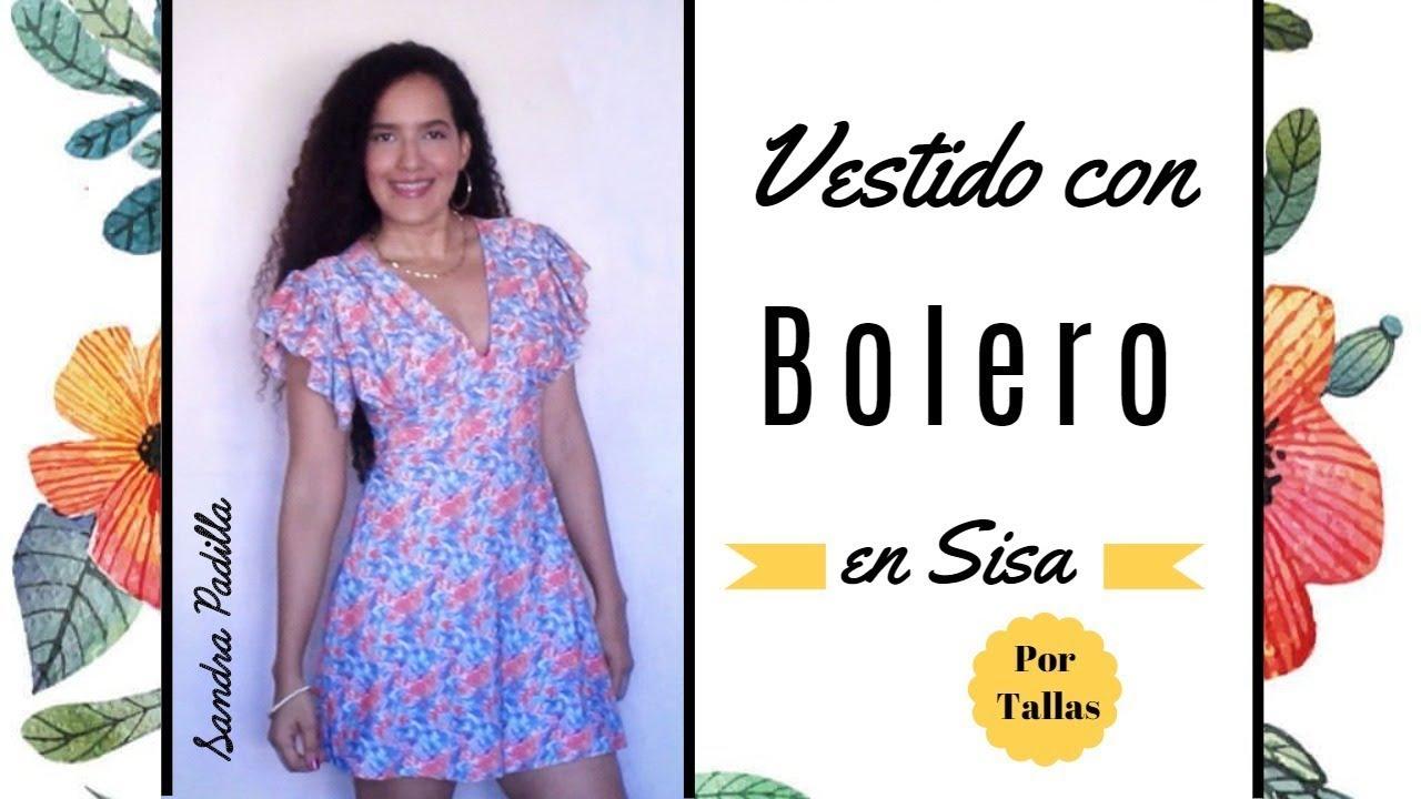 Vestido Con Bolero En Sisa Tutorial De Sandra Padilla