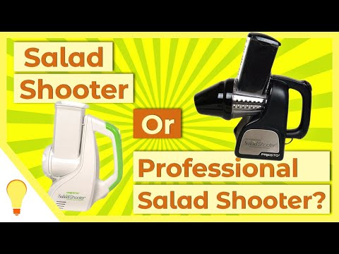 Presto Salad Shooter Vs Professional - What's The Difference?