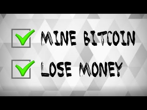 The Difficulty of Mining Bitcoin