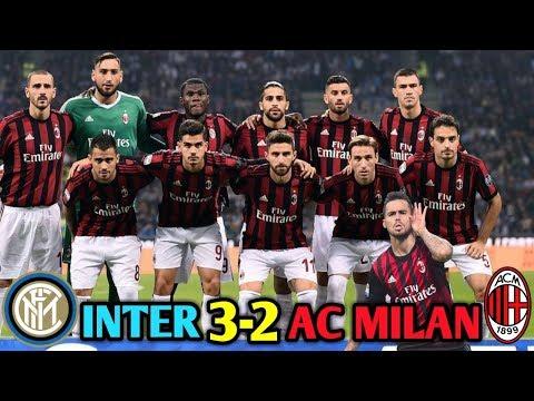 INTER 3-2 AC MILAN! DERBY DE MILANO! VOY AL ESTADIO SAN SIRO Y A CASA MILAN! (Resumen del juego)