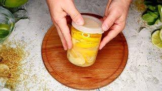 Быстро и вкусно | Лимон мед имбирь - СУПЕР рецепт!