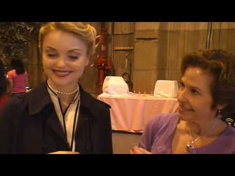 Izabella Miko @ the Got All Your Marbles? Booth @ the Academy Award Connected Gift Suites. Pt 2
