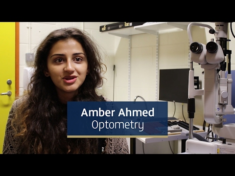 Amber Ahmed - Third Year Optometry