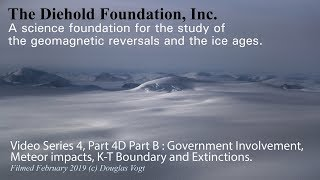 Causes of the Ice Ages Series 4, Part 4D Part B. An Asteroid did not Cause the Ice Age.