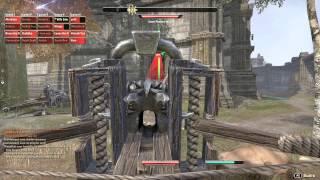 The Elder Scrolls  Online PvP Захват крепости