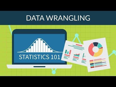Statistics 101 - Data Wrangling