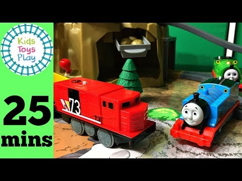 Imaginarium Power Rails Gold Mountain Railway | Thomas and Friends Trackmaster | Playing with Trains