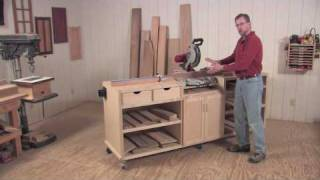 Ultimate Miter Saw Station - Project Overview And Plans