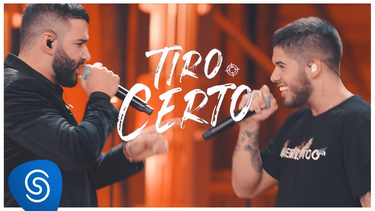 Download Zé Felipe part. Gusttavo Lima - Tiro Certo (Clipe Oficial)