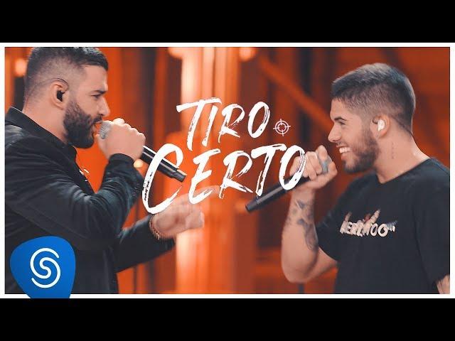 Zé Felipe part. Gusttavo Lima - Tiro Certo (Clipe Oficial)