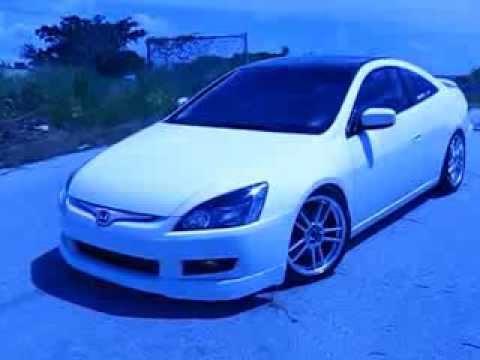 2003 Honda Accord Coupe White / Blue camera filter - YouTube