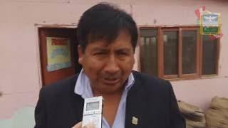 NIÑOS DEL PRONOEI RECIBIERON APOYO DEL ALCALDE CAMPIÑERO LUEGO DE SUFRIR ROBO   ADEMAS HUBO REGALOS