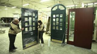 WOODER Производство окон. Видео. Смотреть.(Группа компаний WOODER предлагает деревянные и дерево-алюминиевые окна, входные деревянные двери, дерево-алюм..., 2015-04-09T09:34:42.000Z)