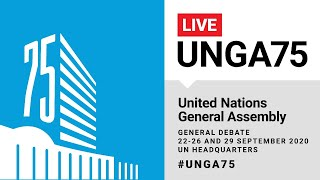#UNGA75 General Debate Live - 23 September 2020
