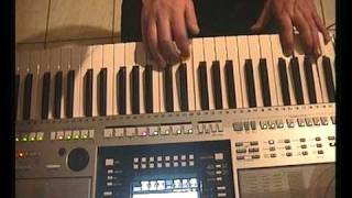 PETRY GILLES YAMAHA PSR S910 GLADIATOR : Now we are free : Hans Zimmer Lisa Gerard